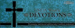 CMDA Weekly Devotional