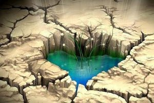 Thirsty heart