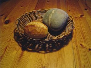 Bread and stone