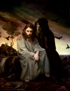 Temptation of Christ by  Eric Armusik